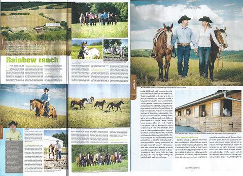 Fotky v časopise Jezdectví 08/2014